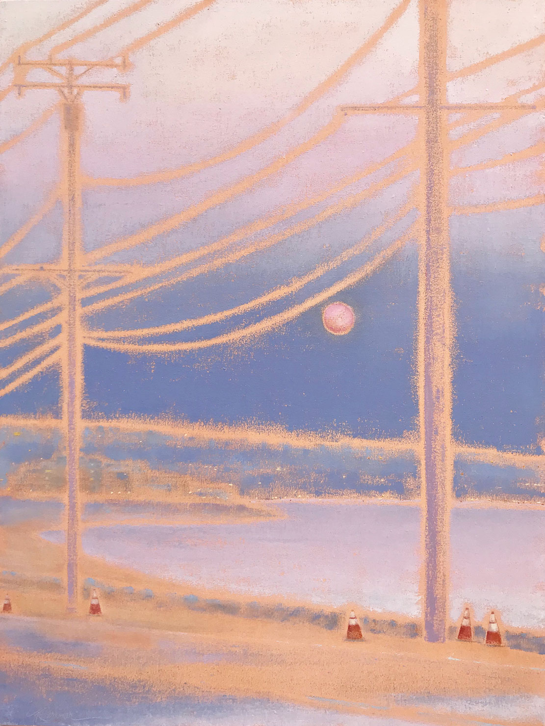©Gay-Summer-RIck_Pink-Moon-Interlude_Oil-on-Canvas_40x30in_Nonpro