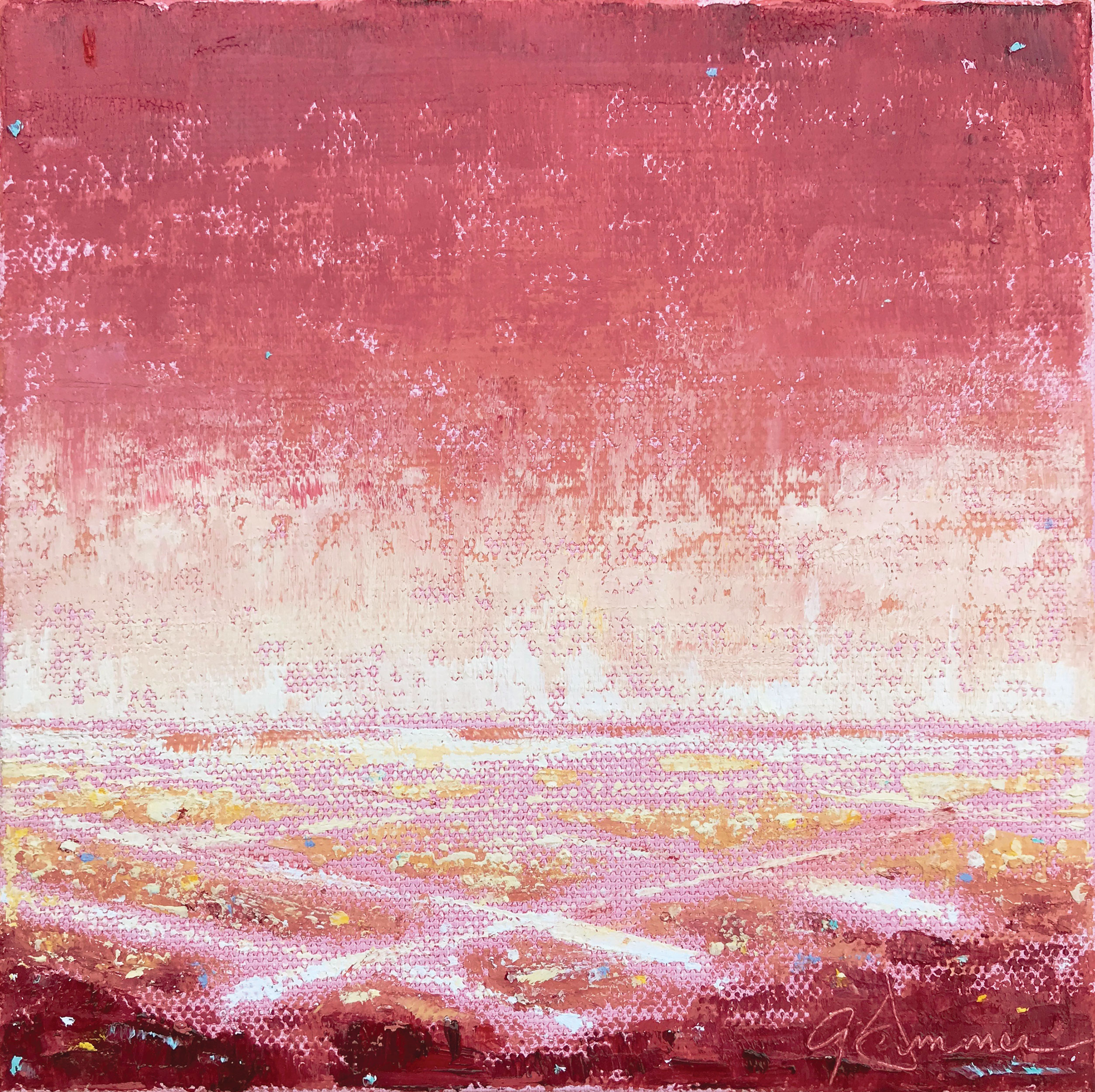©Gay-Summer-Rick_On-The-Grid---Red_Oil-on-Canvas_6x6in_np_web