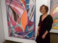 Susan Moss poses with Flame Pond 2012