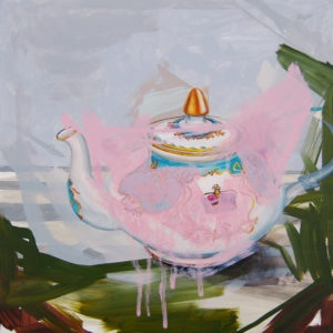 """This Is Not a Teapot"" Markus Durkheim, oil, 12x12in"